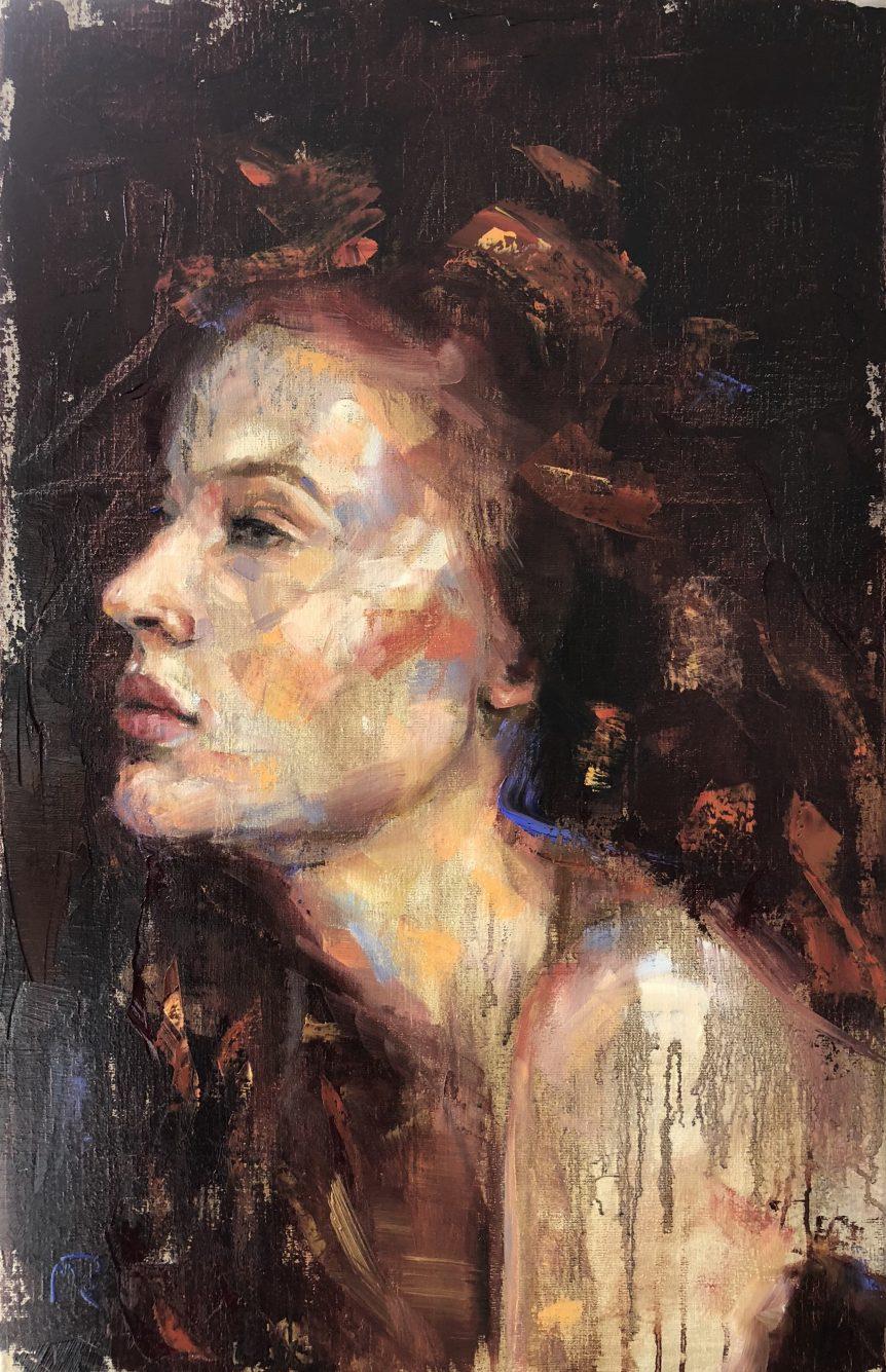 Workshop Portretschilderen Werken Naar Levend Model Mieke Robben